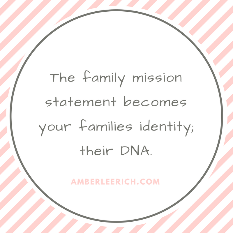 How to Create a Family Mission Statement 1
