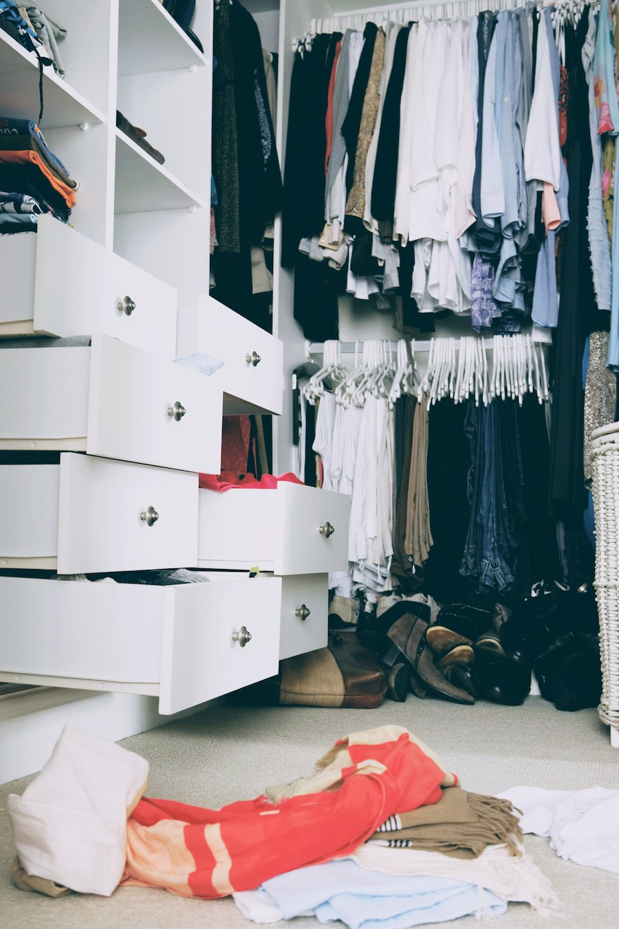 How to Gain Freedom by Letting Go of Most of Your Clothes