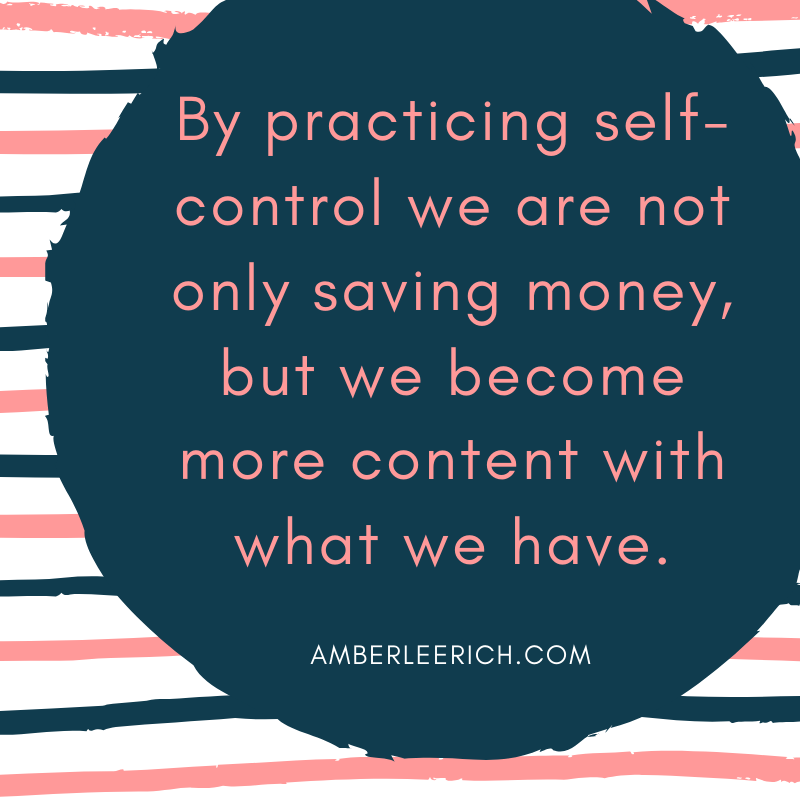 The Phrase I use to Curb Overspending 2