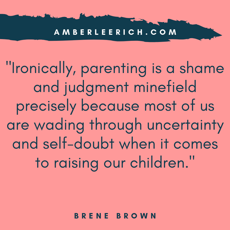 Feeling Judged as a Parent? 1